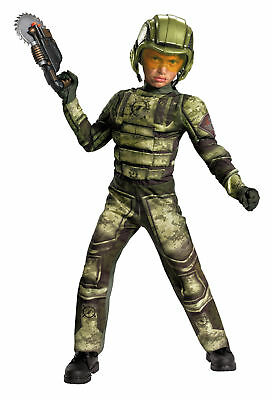Operation Rapid Strike Rot Sector Fuß Soldaten Muskel Kinder Kostüm Jungen (Fuß Soldaten Kostüme)