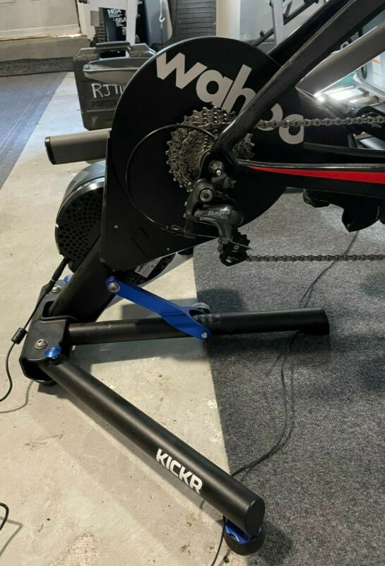 Wahoo Kickr Smart Bike Trainer (Version #4 - 2019 Model) - Used for 363 Miles!