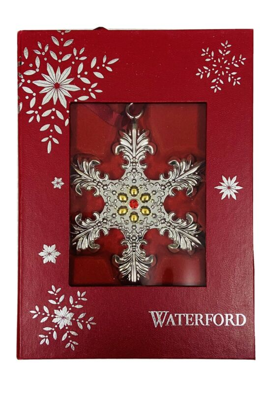 Waterford 2015 Annual Snowflake Ornament. New With Tags.