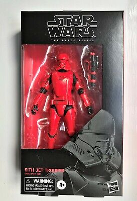 Star Wars The Black Series Sith Jet Trooper Action Figure Hasbro E9320 New