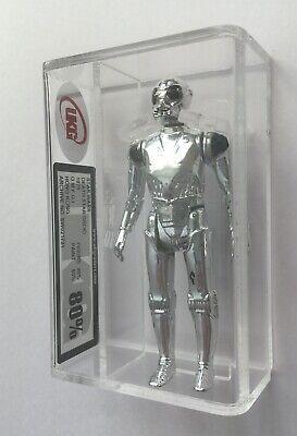 Vintage Star Wars Death Star Droid Figure 85 / Paint 80 UKG AFA Near Mint