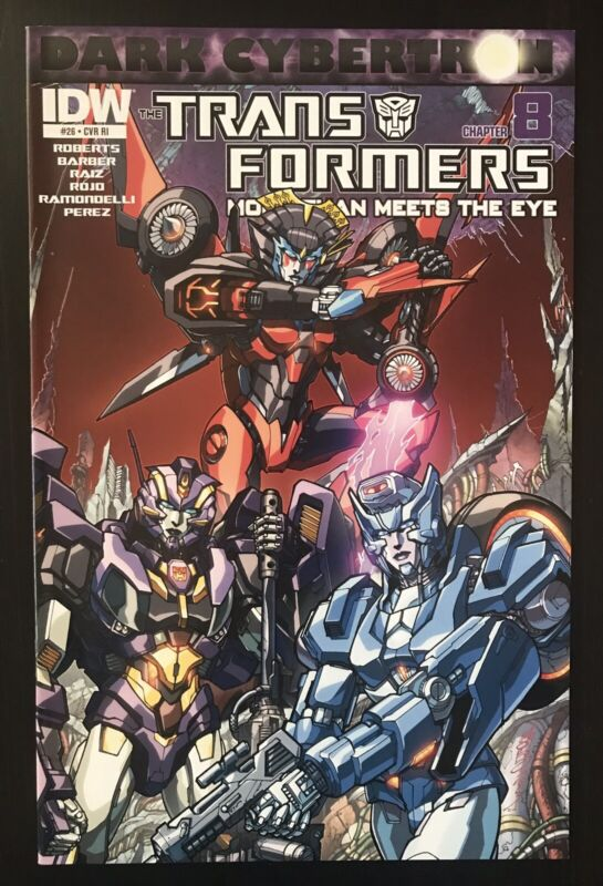 Transformers More Than Meets The Eye 26 Retailer Incentive 2014 IDW Variant NM