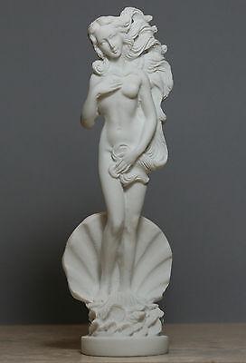 Birth of Goddess APHRODITE Venus Nude Female Statue Sculpture Figure Handmade8''