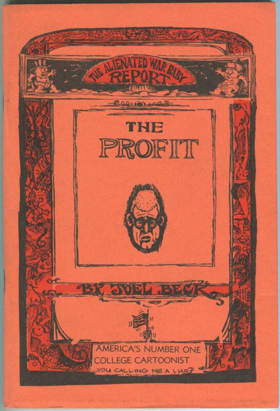 Joel Beck - THE PROFIT- First Edition SUPER HIGH GRADE 1966