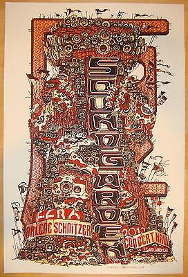 2013 Soundgarden - Portland Silkscreen Concert Poster by Guy Burwell s/n