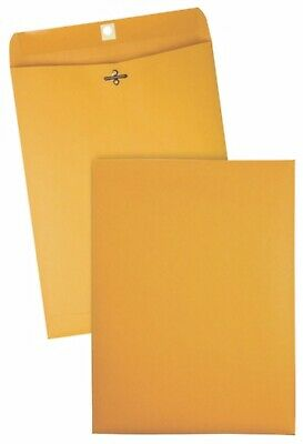 10 Pcs Clasp Envelopes 9x12 28lb Kraft Shipping Mailing Gummed Business Manila