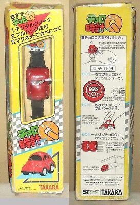 Watch Choro Q Volkswagen VW Transformers Figure Dolls Takara 1984 Unused Rare