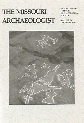 Archaeology Indian Book St. Louis, Missouri MO V50