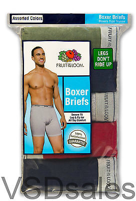 Buy and sell 8 Blue Gray Green Red Fruit Of The Loom Boxer Briefs XL 40-42 Inch EG products