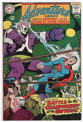 MAR 1968 #366 ADVENTURE DC COMIC BOOK - VG