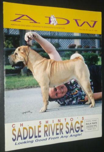 American Dog Week Shar Pei Cover July 1994