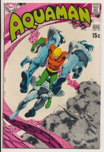 Aquaman #52 DC Comics 1970 Deadman by Neal Adams