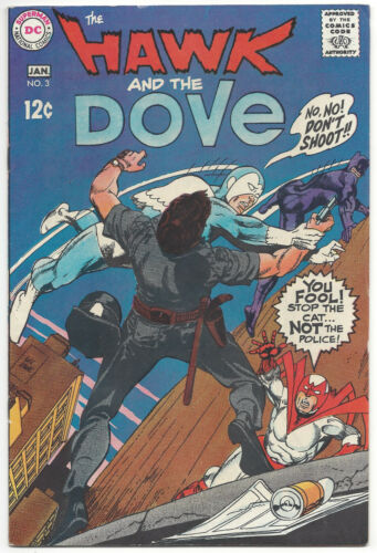 The Hawk and the Dove #3 (VF) 1969
