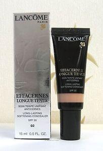 Lancome Effacernes Long Lasting Concealer - Beige Sable 02 BNIB- UPDATED VERSION