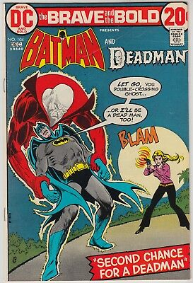 BRAVE AND THE BOLD #104, #109, & #110, DC 1973-74, AVG GRADE VF-, BATMAN