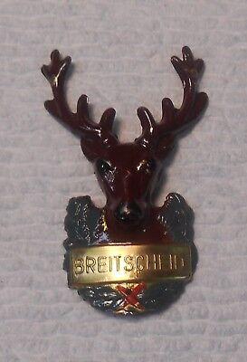Austrian Stocknagel Hiking Badge Breitscheid Stag Deer Buck