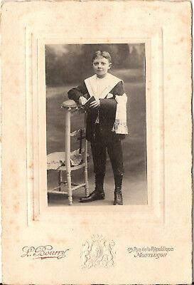 CAB Foto Feiner Junge - Montlucon 1910er