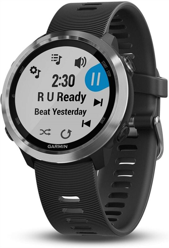 Garmin Forerunner 645 Music, GPS Running Watch With Pay Contactless Payments