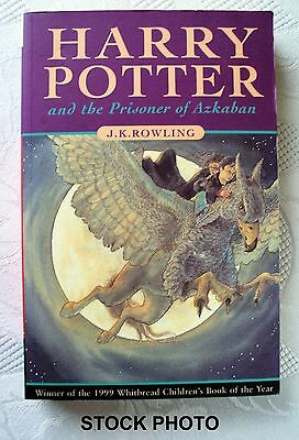 HARRY POTTER and the PRISONER of AZKABAN UK  FIRST EDITION. 1st PRINT