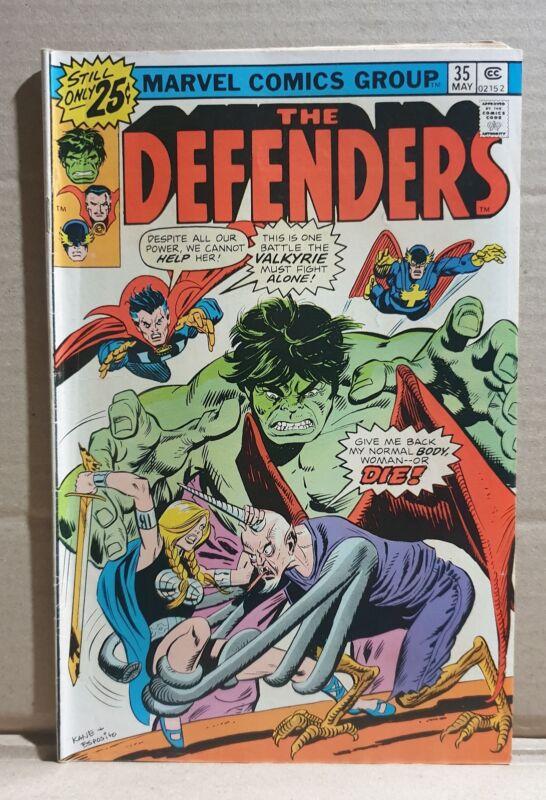 COMIC BOOK ~  MARVEL DEFENDERS #35