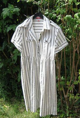 Sommerkleid Kleid Größe 40  luftig ,locker,leicht 97% Baumwolle 7%Elasthan