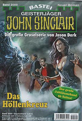 JOHN SINCLAIR ROMAN Nr. 2000 - Das Höllenkreuz + Sonderband - Jason Dark - OVP