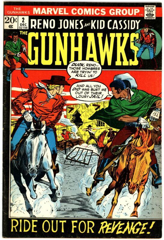 Gunhawks (1972) #2 VF 8.0