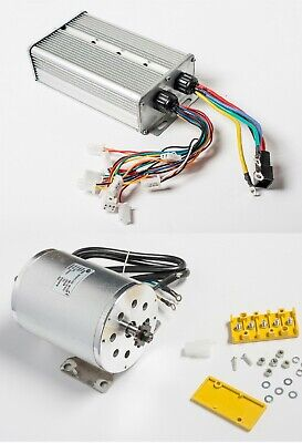 Boma 3000w 72v Bldc Electric Motor W Base Bm1024 W 48a Controller Gokart Scooter
