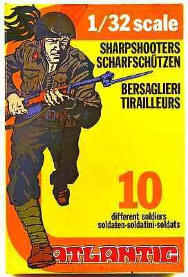 Atlantic World War Ii Italian Bersaglieri   Set 2109   Mint In Box   60Mm Scale