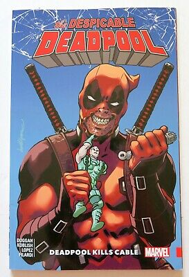 Despicable Deadpool Vol. 1 Deadpool Kills Cable Marvel Graphic Novel Comic Book