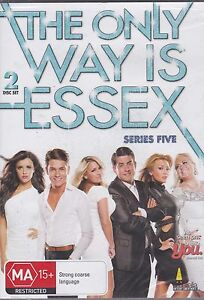 THE ONLY WAY IS ESSEX - SERIES FIVE  - 2 DVD'S