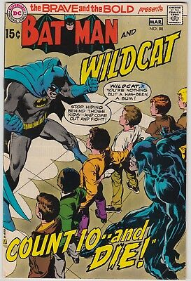 BRAVE AND THE BOLD #88, #89, & #95, DC 1970-71, GRADE VARIES, BATMAN