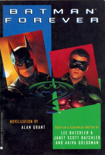 Batman Forever by Alan Grant 1995 Movie Color Photos 1st Edition Val Kilmer