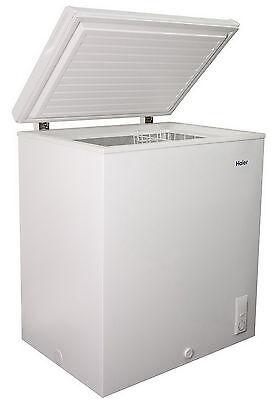 ديب فريزر جديد New Large Haier Chest Freezer 5.0 Cu Ft Deep Freeze Removable Basket