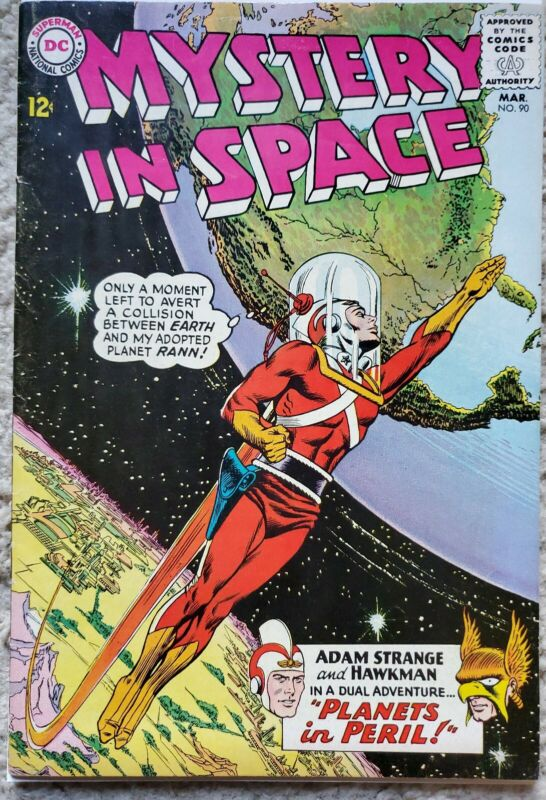 MYSTERY IN SPACE #90 VF- 7.5 DC 3/1964