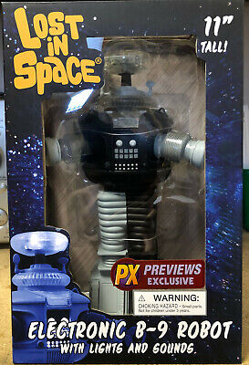 Diamond Select Toys Lost In Space B9 Electronic Robot Anti-Matter Figure New