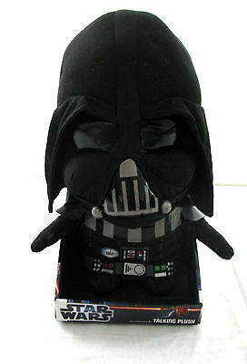 STAR WARS TALKING PLUSH COLLECTABLE TOY APPROX 14 INCH