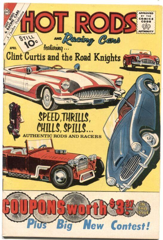 HOT RODS & RACING CARS #51-1961-CUSTOM CAR-DRAG RACING--CHARLTON