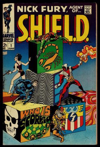 1968 Marvel Nick Fury, Agent of Shield #1 VF-