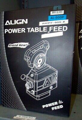Vertex Align Ampf-500x Power Feeder X Axis For Bridgeport Style Milling Machines