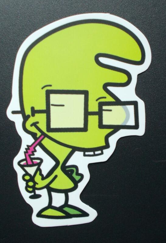 "Sticker Decal Matt Finish "" Nerd "" Laptop, Stickerbomb (M063)"
