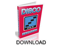 CUBASE DISCO REX LOOPS LOGIC ABLETON- DOWNLOAD REASON REFILL PRO TOOLS