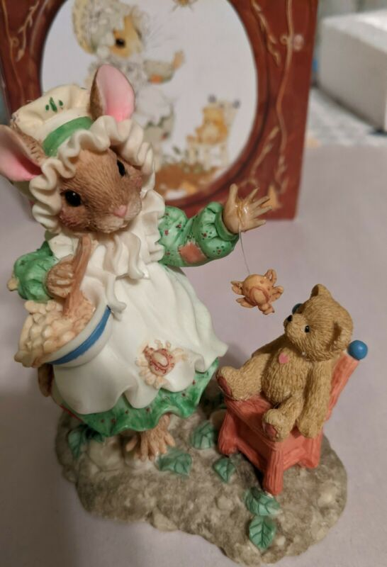 ENESCO MOUSE TALES LITTLE MISS MUFFET THERE