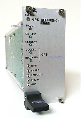 Trak Systems Model 9101-5 Gps Reference Module Double Oven Crystal Oscillator Do