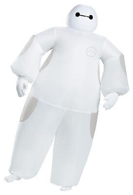 Baymax Weiß Aufblasbar Erwachsene Kostüm Disney Big Hero Halloween (Airblown Aufblasbare Kostüme)