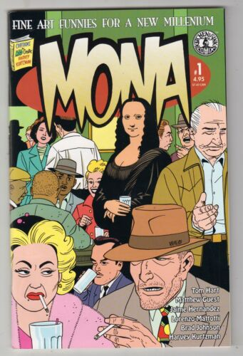 Mona #1, HARVEY KURTZMAN, JAIME HERNANDEZ, Kitchen Sink 1999, VF+  r
