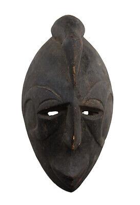 Masquette Igbo Abogho Mmwo Mask Diminutive African 15cm Art First 16874