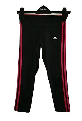 Women's ADIDAS Climalite RUNNING Gym Half  Leggings Size U.K 8-10 for sale  Shipping to Nigeria