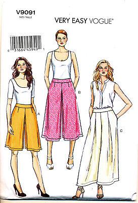 Швейные выкройки VOGUE SEWING PATTERN 9091