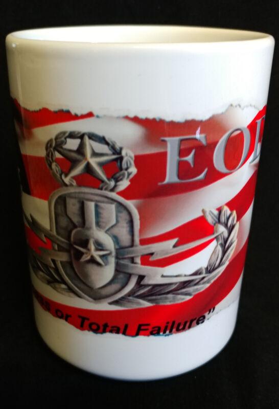 "EOD ""Initial Success or Total Failure"" 15oz Coffee Mug"